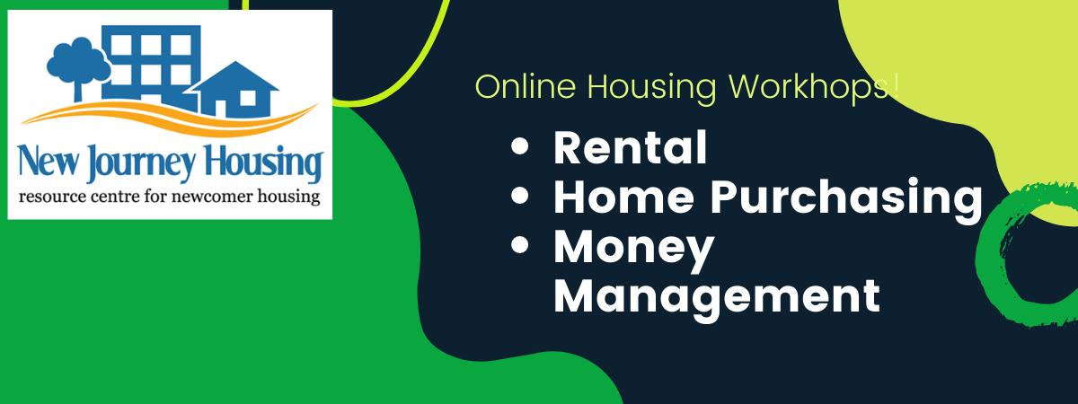 Online Housing Workshops!